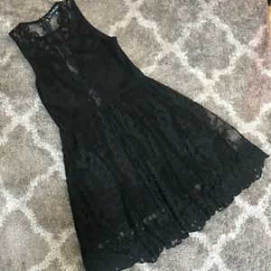 For love & lemons lace skater dress